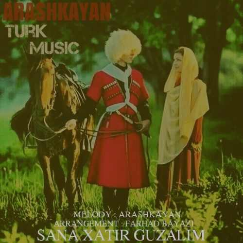 دانلود آهنگ جدید آرش کایان بنام سنه خاطیر گوزلیم