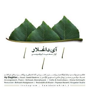 سعید ابراهیمی آی داغلار